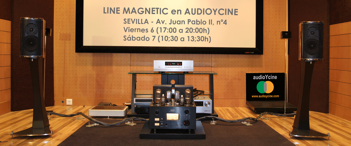 amplificador-LINE-MAGNETIC-EN-AUDIOYCINE
