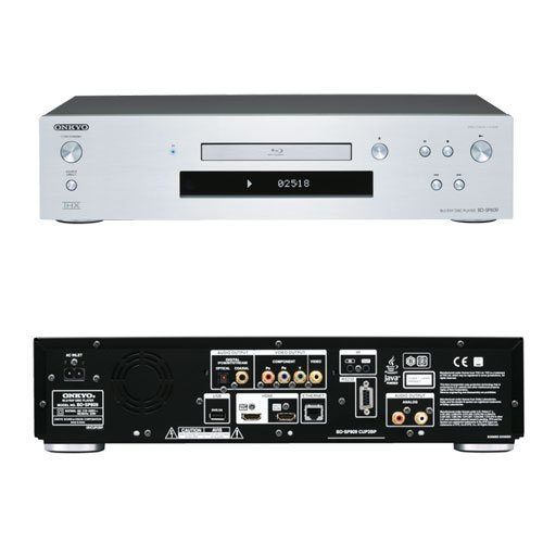 blu-ray onkyo bd-sp809 color silver