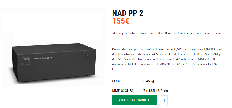 Nad PP 2 Audio y Cine