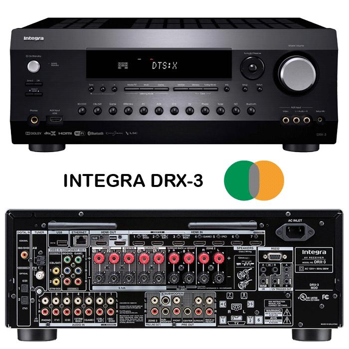 receptor-av-INTEGRA-DRX3