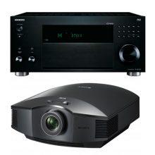 amplificador-av-onkyo-rz1100-proyector-sony-hv65
