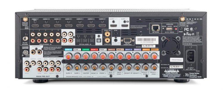 receptor AV Anthem MRX-1120-conexiones