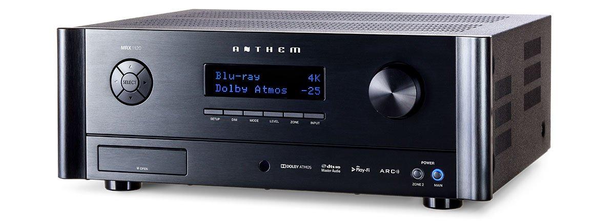 receptor AV Anthem MRX-1120 vista fronta