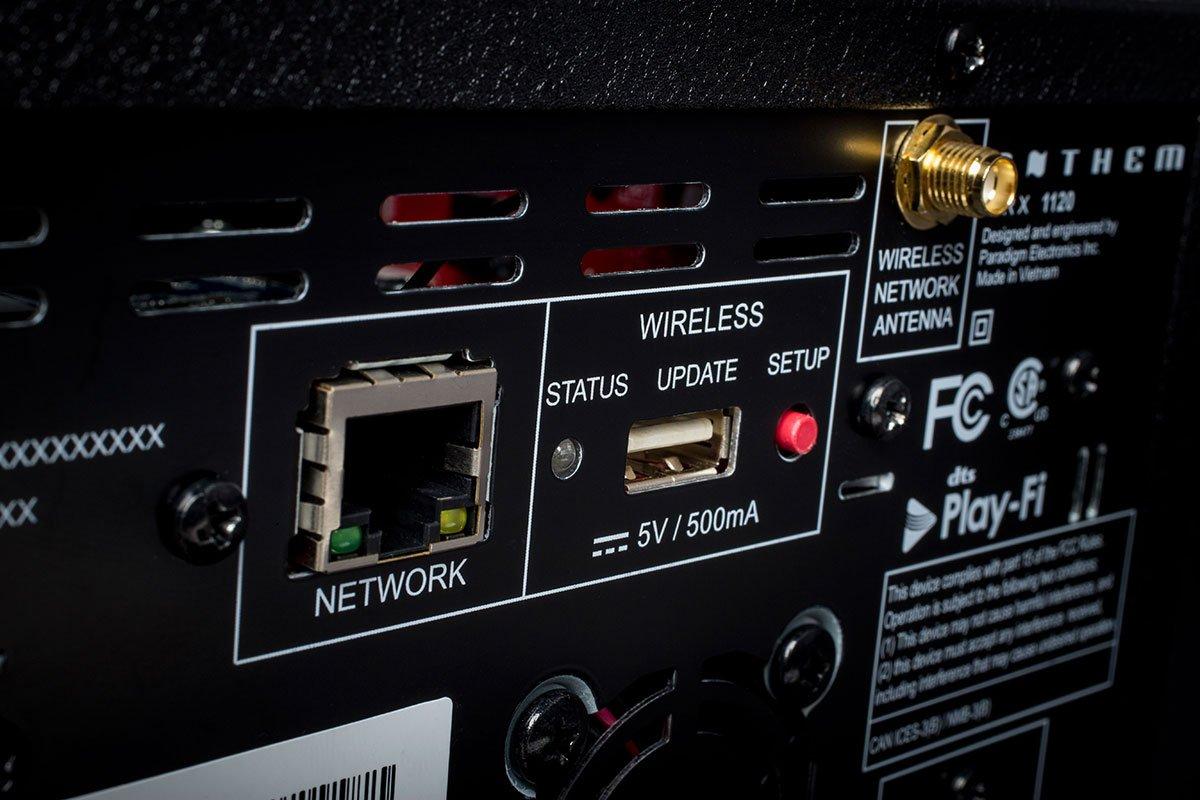 receptor AV Anthem MRX-1120 vista trasera zoom derecho