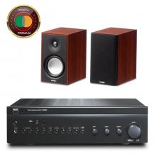 amplificador-nad-c356-altavoces-paradigm-atom-oferta