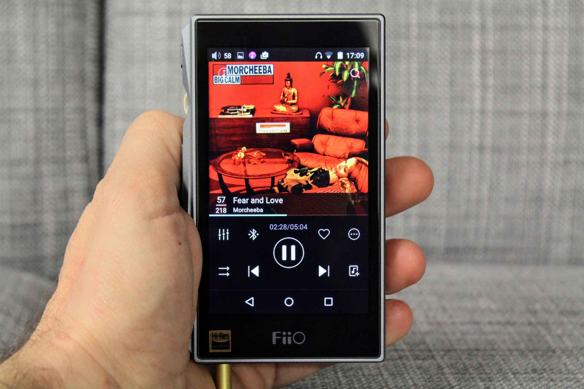 Fiio-x5-III-gen-reproductor-audio-portátil