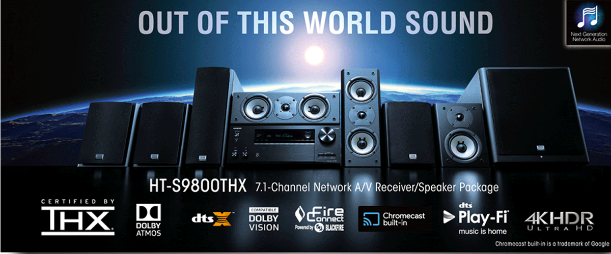 Onkyo ht s9800thx - Thx home cinema ...
