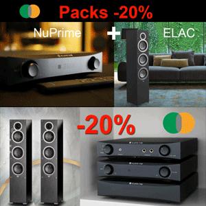 Promoción -20% de ahorro en packs ELAC + NuPrime