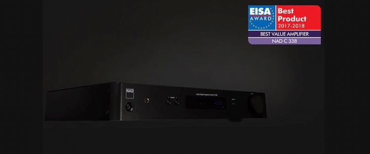 Amplificador NAD C338 premio EISA