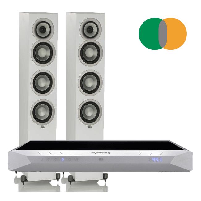 pack-altavoces-ELAC-UNIFI-white-amplificador-integrado-nuprime-ida16