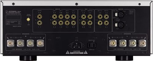 amplificador-Luxman-L505uX-Rear-conexiones