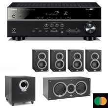 pack-home-cinema-Yamaha-rxv483-Elac-b5-c5-b4