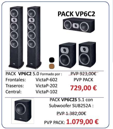 Ofertas-altavoces-Heco-Victa-prime-conjunto VP6