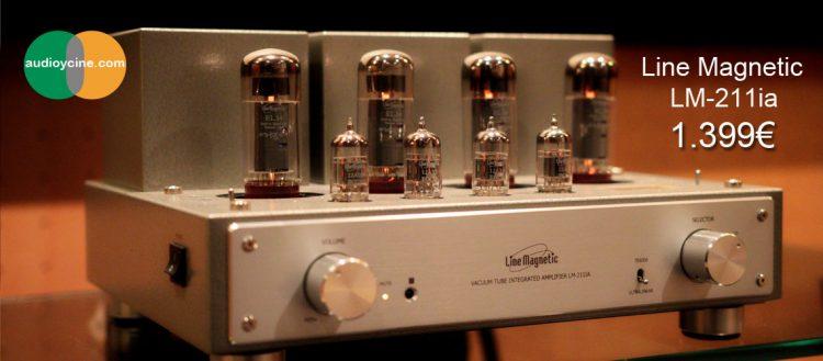 Amplificador integrado a válvulas Line-Magnetic-LM211ia- baner-1140