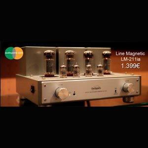 Line Magnetic LM-211ia, un amplificador para hifi lovers