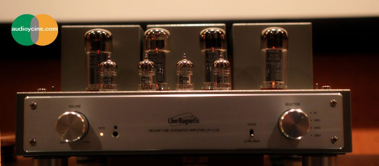 Line-Magnetic-LM211ia-amplificador integrado a válvulas