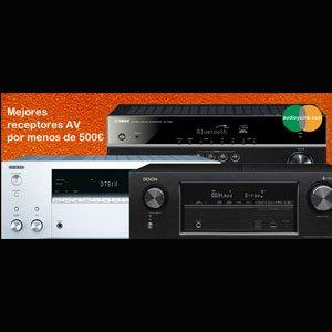 Los mejores receptores AV por menos de 500€
