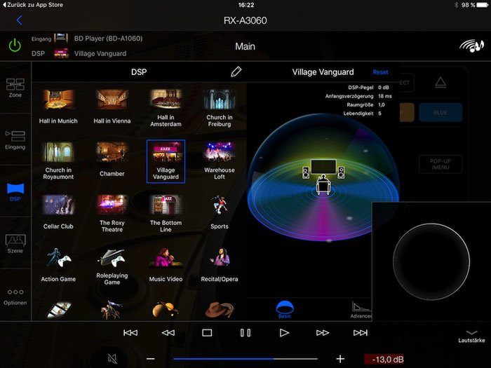 Yamaha-app-aplicación-controller