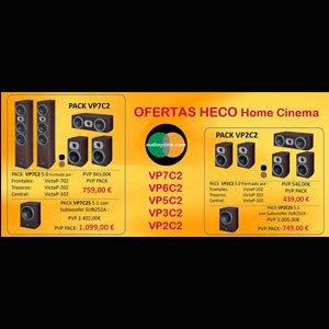 Ofertas HECO Victa Prime en conjuntos de altavoces home cinema