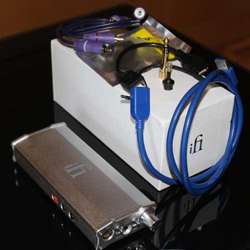 ifi Micro idsd amplificador auriculares portátil y accesorios