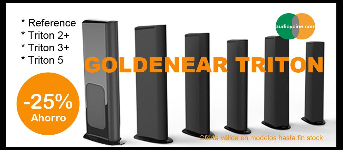 Altavoces-goldenear-triton-oferta