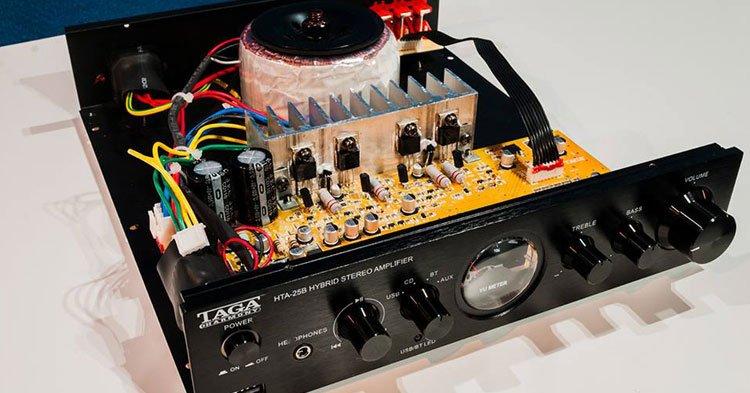 amplificador-integrado-híbrido-taga-hta-25b