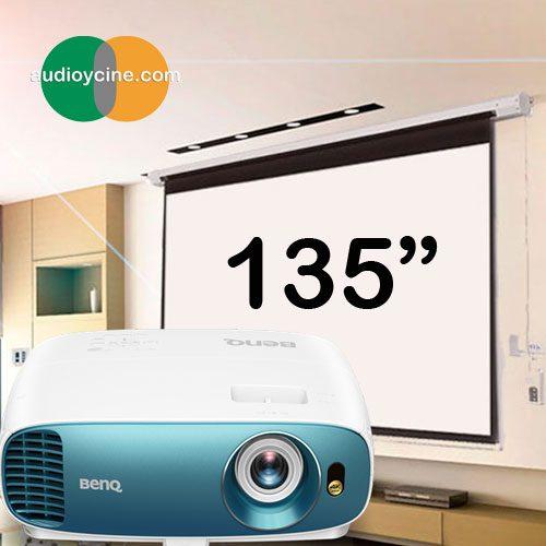 proyector-benq-tk800-pantalla-135-audioycine
