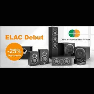 ELAC Uni-Fi Slim, una oferta de altavoces con estilo