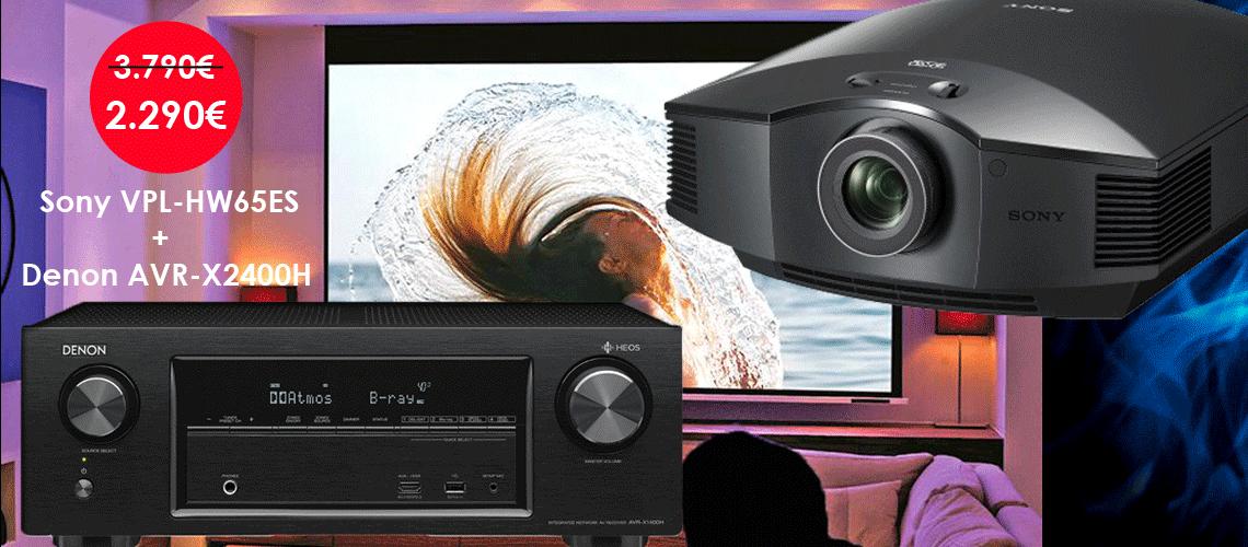 proyector-sony65-receptor-denon2400