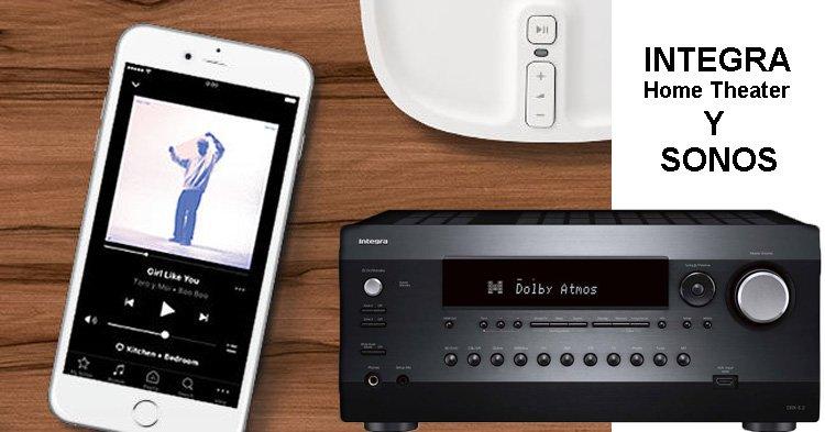 amplificadores-av-integra y sonos