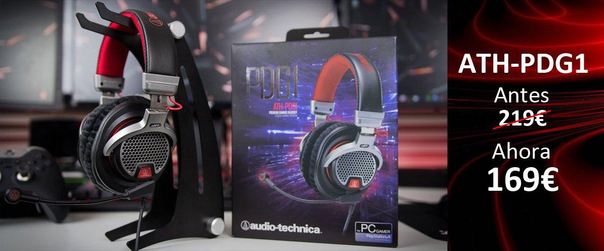 auriculares-gaming-Audio-Technica-ATH-PDG1-oferta