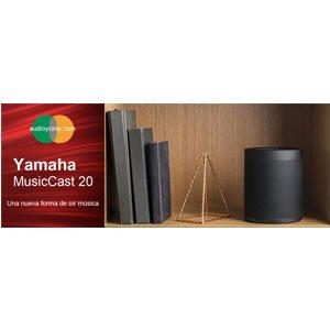 Oferta del altavoz bluetooh de Yamaha MusicCast 20