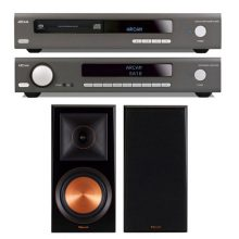 Arcam-sa10--CDS50-Klipsch-rp600m-pack-estereo-audio