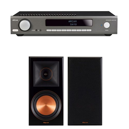 Arcam-sa10-Klipsch-rp600m-pack-de-audio-estereo