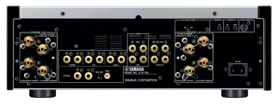 amplificador-integrado-Yamaha-a-s1100-conexiones-traseras