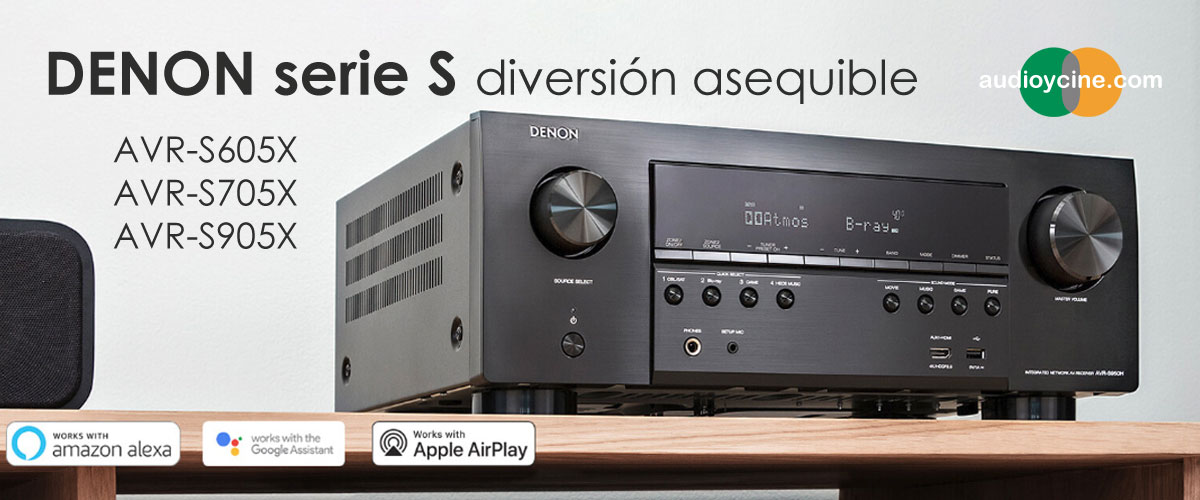 Receptores-Denon-AVR-S-audio-video