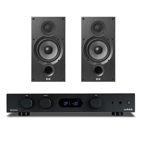 audiolab-6000a-elac-b6-black-pack-estereo