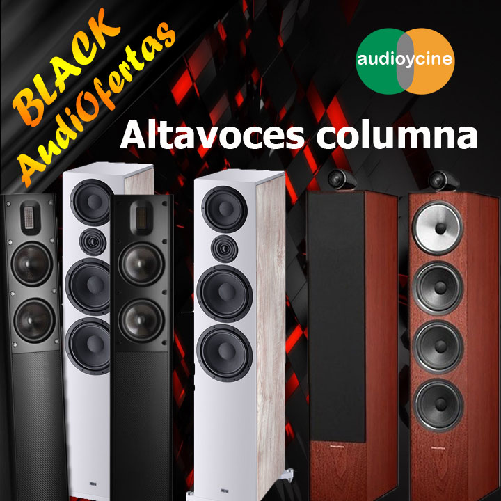 Black-friday-Altavoces-columna-black-audiofertas-2019