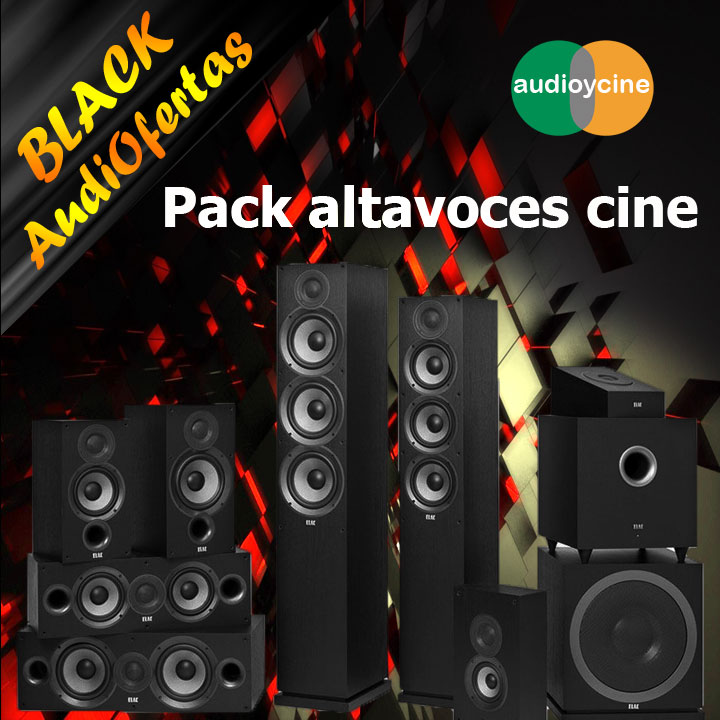 Black-friday-Pack-altavoces-cine-black-audiofertas-2019