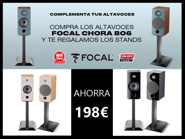 FOCAL-CHORA-806-STANDS-OFERTA-ALTAVOCES