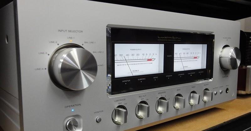 LUXMAN L-509X frontal-amplificador
